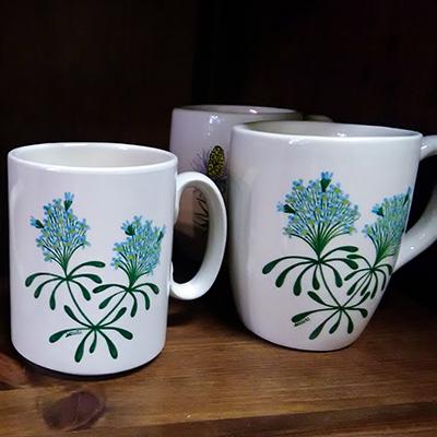Non ti scordar di me Decori Ceramiche Lazzara Paluzza