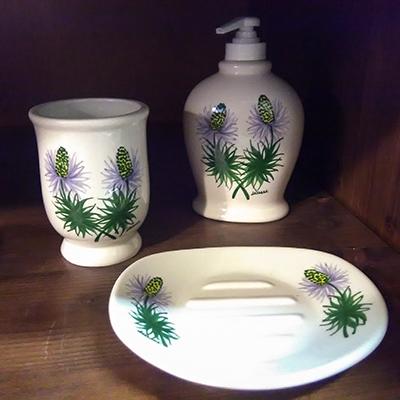 Regina delle Alpi Decori Ceramiche Lazzara Paluzza