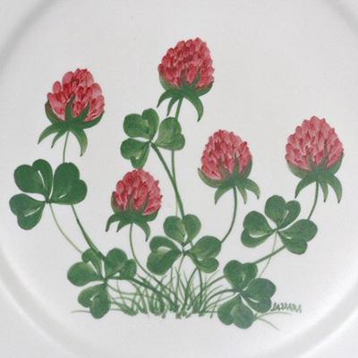 Trifoglio Decori Ceramiche Lazzara Paluzza
