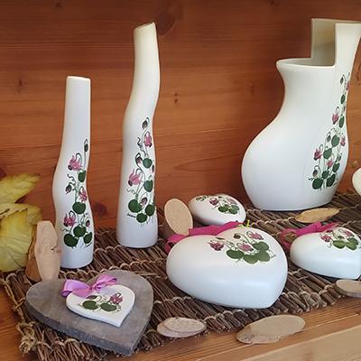 Ciclamino Decori Ceramiche Lazzara Paluzza